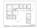 Ximenez-Fatio House, 22 Aviles Street, Saint Augustine, St. Johns County, FL HABS FL-116 (sheet 1 of 13).png