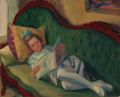 YOUNG GIRL READING, GLOUCESTER.PNG