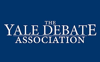 Yale Debate Association - Image: Yale Debate Wordmark Dark Background