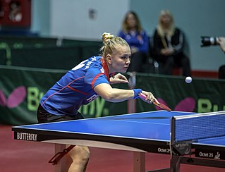 Russian table tennis player