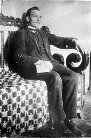 Yanka Kupala - Janka Kupala during his study under a professor A. Charniaev in Saint Petersburg, 1909