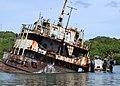 Yap Shipwreck Salvage 2012 01.jpg