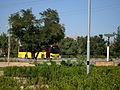 Yellow Bus for an Organization - Road 44 east of Iran - near Simorgh Culture house - Nishapur 4.JPG
