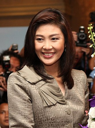 Yingluck Shinawatra - Yingluck Shinawatra at US Embassy in Bangkok, July 2011