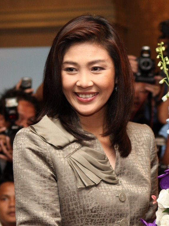 Yingluck Shinawatra at US Embassy, Bangkok, July 2011