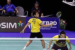 Yonex IFB 2013 - Eightfinal - Chan Yun Lung-Lee Hei-chun — Hoon Thien How-Tan Wee Kiong 01