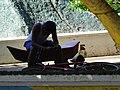Young Man in Plaza - Altagracia - Ometepe Island - Nicaragua (30975521664).jpg