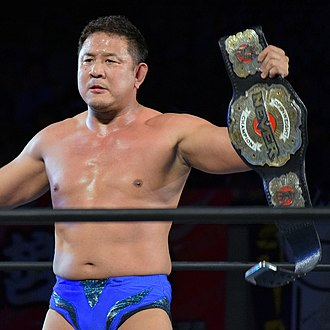Yuji Nagata - Nagata as the NEVER Openweight Champion