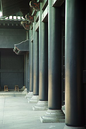 Rector (academia) - Colonnade at the reconstructed Yushima Seidō in Tokyo.  The hereditary rectors of this Edo period institution were selected from the Hayashi clan.