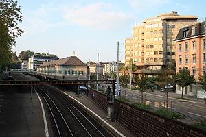 Zürich Enge railway station - Image: Zürich Enge Bahnhof IMG 0745