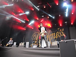 The Darkness op de Zwarte Cross in 2016