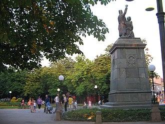 Zaječar - Park and monument