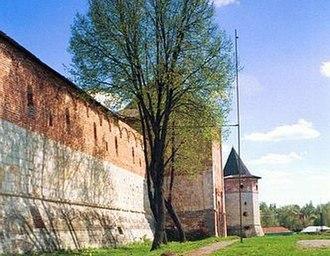 Zaraysk - A wall of the Zaraysk kremlin