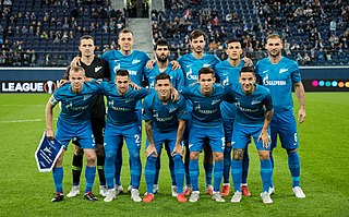 2018–19 FC Zenit Saint Petersburg season