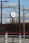 Zegar na stacji Duivendrecht.JPG