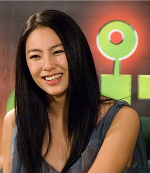 Sing girls - Zhang Yuqi became a well-known celebrity after appearing in with Chow in CJ7.