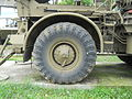 ZiL-135 tire, National Museum of Military History, Bulgaria.jpg