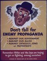 """Don't Fall for Enemy Propaganda"" - NARA - 514139.tif"