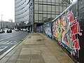 """""""Graffiti"""" on the old Zurich building (1) - geograph.org.uk - 2275836.jpg"""