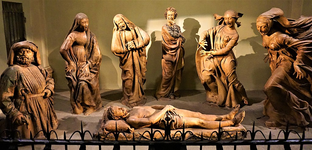 """Lamentation over the Dead Christ"" by Niccolò dell'Arca"