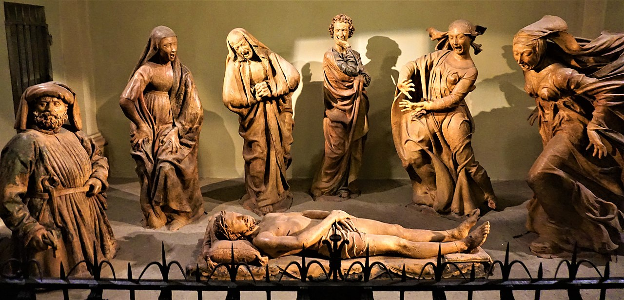 """Lamentation over the Dead Christ"" by Niccolò dell'Arca by Joy of Museums.jpg"