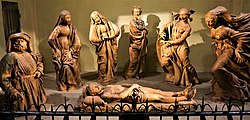 """""""Lamentation over the Dead Christ"""" by Niccolò dell'Arca by Joy of Museums.jpg"""