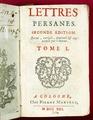 """""""Persiska brev"""" av Montesquieu - Skoklosters slott - 56543.tif"""