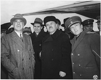 Andrei Gromyko - Andrei Gromyko (second from left) at Yalta in February 1945