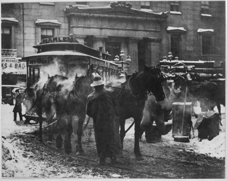Alfred Steiglitz photo, NYC 1892 (Wikimedia Commons)