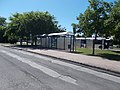 'Kiskőrös, vasútállomás' Haltestelle, O, 2021 Kiskőrös.jpg