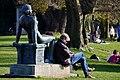 'Sitzende' (Hermann Hubacher) - Seefeldquai 2014-03-08 15-41-44.JPG