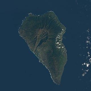 La Palma Most northwestern Canary Island