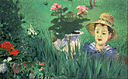 Édouard Manet - Boy in Flowers (Jacques Hoschedé) - Google Art Project.jpg