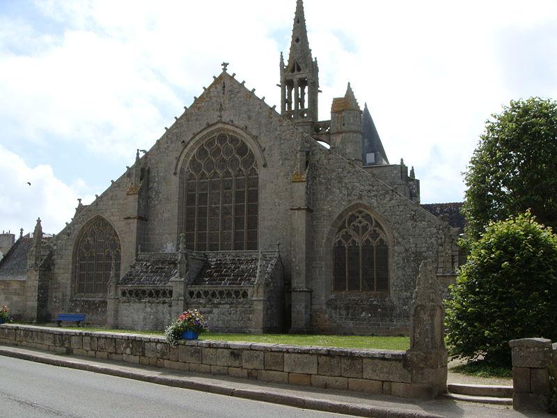Église Saint-Nonna, Penmarc'h, Bretagne, France