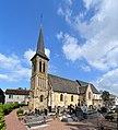 Église Saint-Remy d'Annebault. Vue sud-ouest.jpg