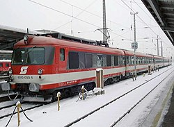 InterCity der ÖBB in Graz (Januar 2002)