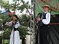 Łemkowski (bieszczadzki) duet Akcent Bukowskie 2009.JPG