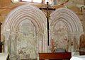 Špitalič pri Slovenskih Konjicah - cerkev Marijinega obiskanja (sedilije).jpg