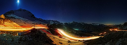 Αθαμανικά Όρη υπό το φως του Φεγγαριού - Στάθης Κουτσιαύτης