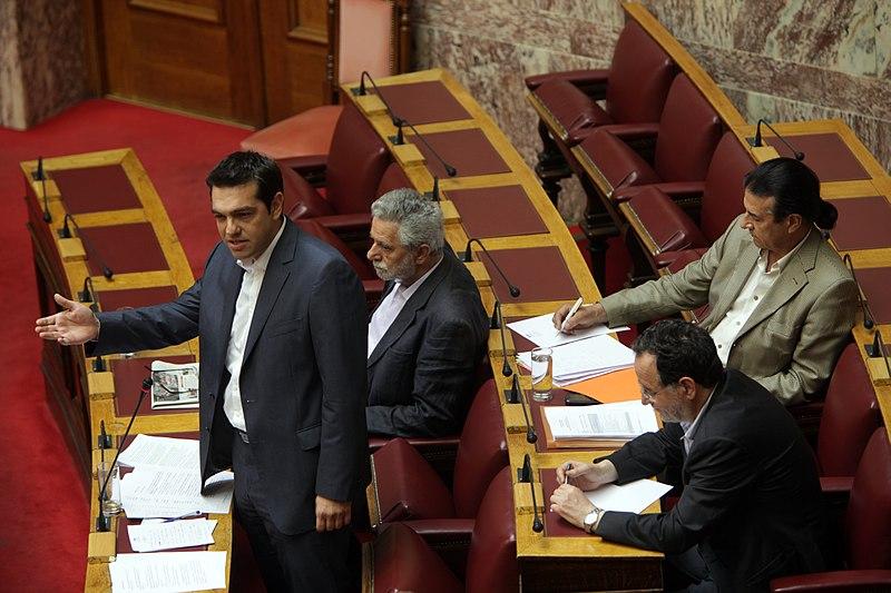 File:Ομιλία σε Επίκαιρη Ερώτηση του Προέδρου της Κοινοβουλευτικής Ομάδας του Συνασπισμού Ριζοσπαστικής Αριστεράς, Αλέξη Τσίπρα 2.jpg