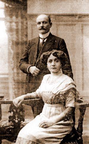 Gyorche Petrov - Image: Ѓорче со сопругата