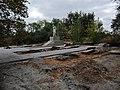 Братська могила у с.Романівка, вигляд з півночі.JPG