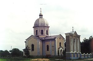 Buzhok - Image: Бужок, церква