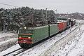 ВЛ10У-501, Россия, Московская область, перегон Ступино - Кашира-Пассажирская (Trainpix 178517).jpg