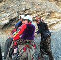 Верхом на ишаке (Таджикистан).JPG