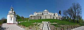 Vyshnivets Palace - Image: Вишневець. Церква Воскресіння Христового 03