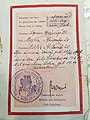 Замежпаспарт, выдадзены консульствам БНР у Берліне Клары Заяц.1920. 04.jpg
