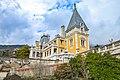 Масандра - Комплекс споруд палацу Олександра III-1-3.jpg