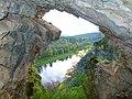 Пещера в Занозинской излучине, на реке Ай 3.jpg