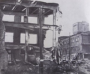 Bombing of Gorky in World War II - Gorky. Nitel plant after the bombing raid